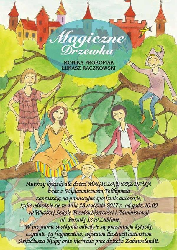 Spotkanie autorskie Twórców książki Magiczne Drzewka